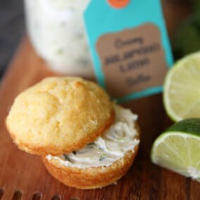 Creamy Jalapeno-Lime Butter