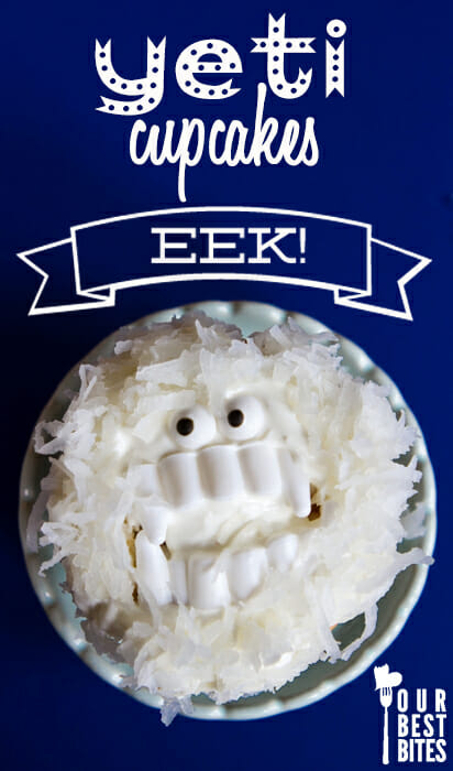 Super-Easy Yeti Cupcakes from Our Best Bites