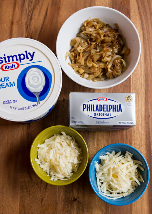 French onion dip ingredients