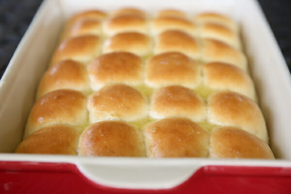 Baked One Hour Rolls