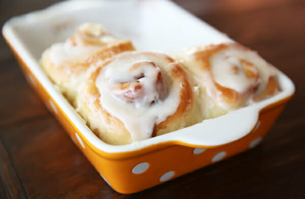 Cinnamon Rolls - Love this quick rolls recipe! Done in under an hour!