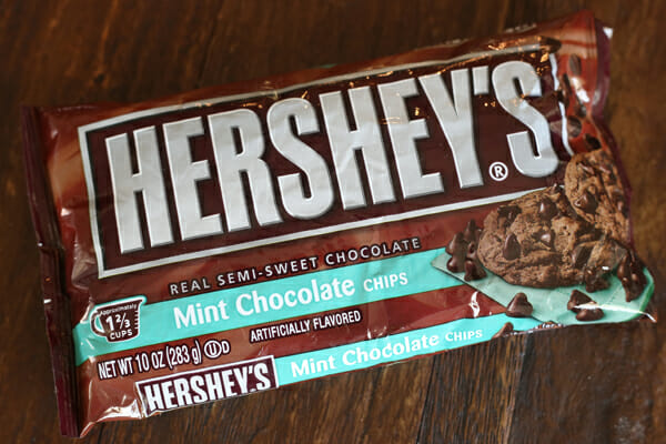 Hershey's Mint Chocolate Chips
