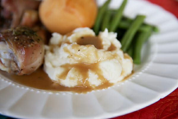 Mashed Potatoes and Gravy from Our Best Bites
