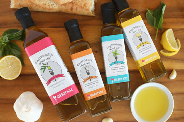 Our Best Bites Custom Olive Oils