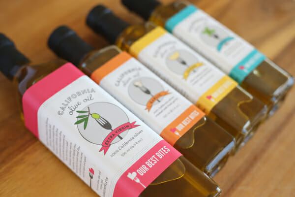 Our Best Bites Olive Oil Labels