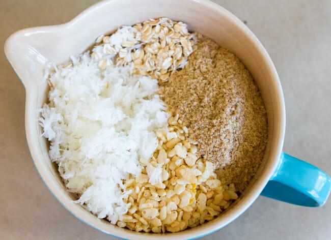 dry granola ingredients