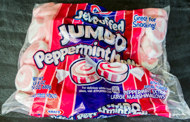 jumbo peppermint marshmallows
