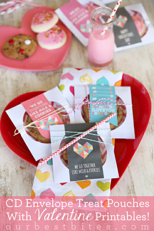 Easy Treat Pouch Printables from the girls at Our Best Bites