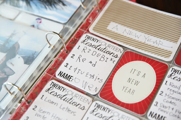 New Years Resolutions Cards
