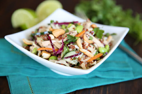 Protein Packed Thai Chicken Salad from Our Best Bites