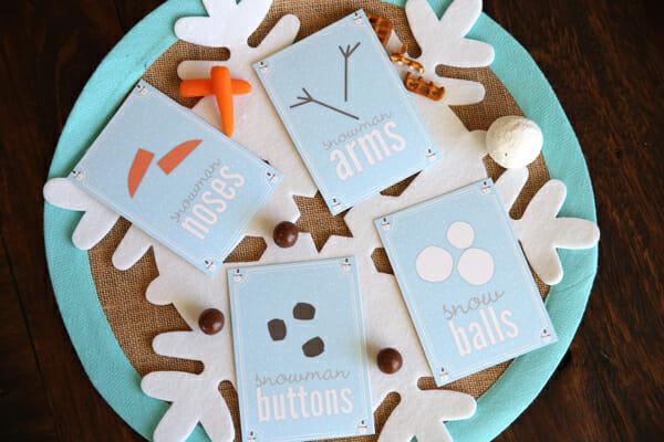 Snowman Party Printables