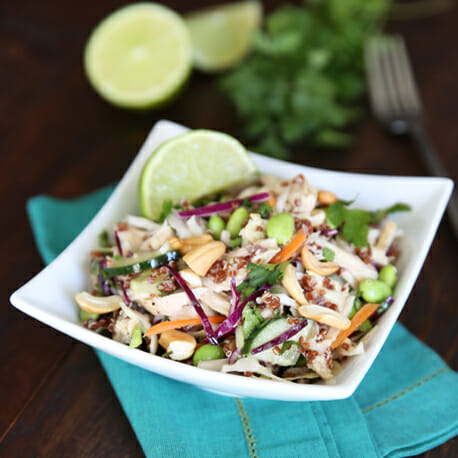 Healthy Thai Chicken Salad {For 1!}