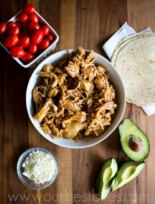 Super easy Slow Cooker Tacos from Our Best Bites