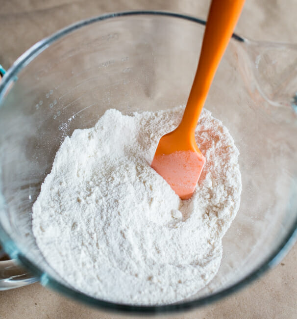 whisked together dry ingredients