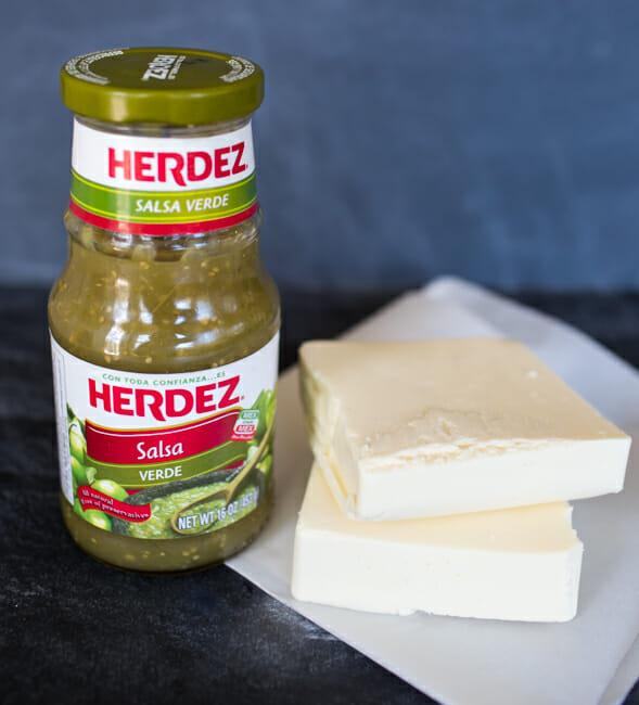 Queso Verde Ingredients