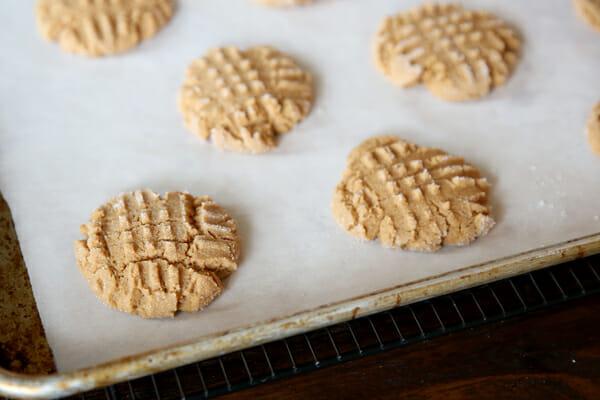 Baked PB Cookies