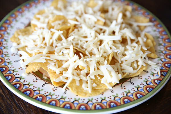 Cheese on Chips