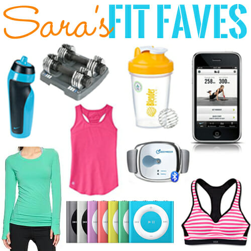 Sara's Fit Gear Faves
