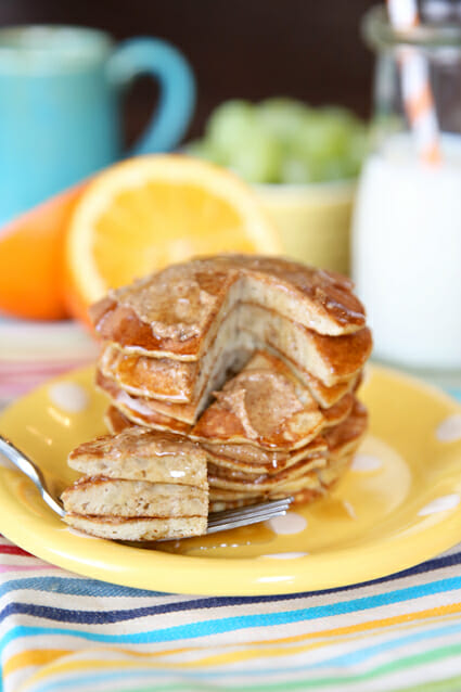 Healthy Low Carb Pancakes from Our Best Bites