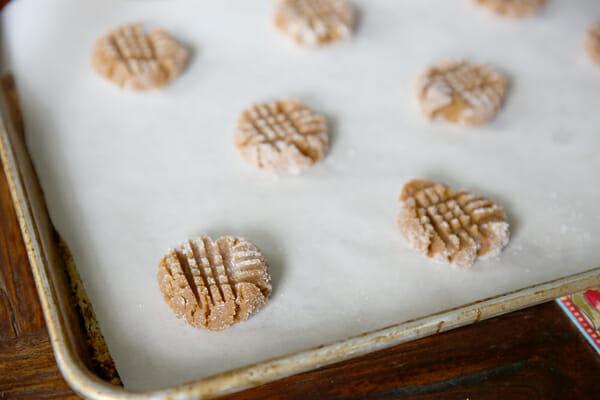 Rolled PB Cookies