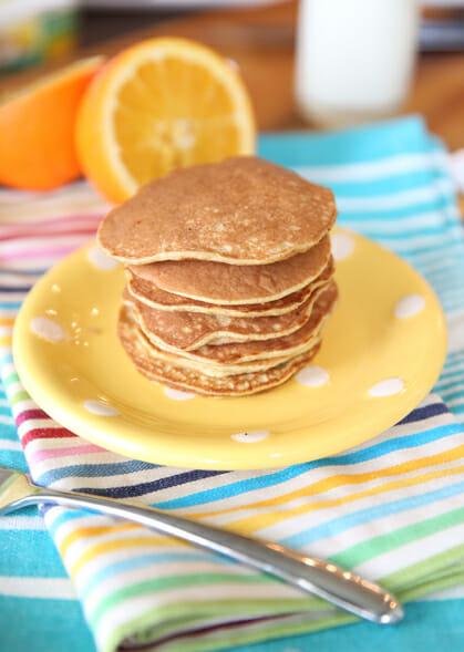 cooked banana pancakes