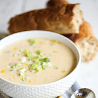 Crawfish & Corn Bisque {Quick and Easy!}