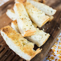 Make-Ahead Garlic Bread--you'll always have some in your freezer!