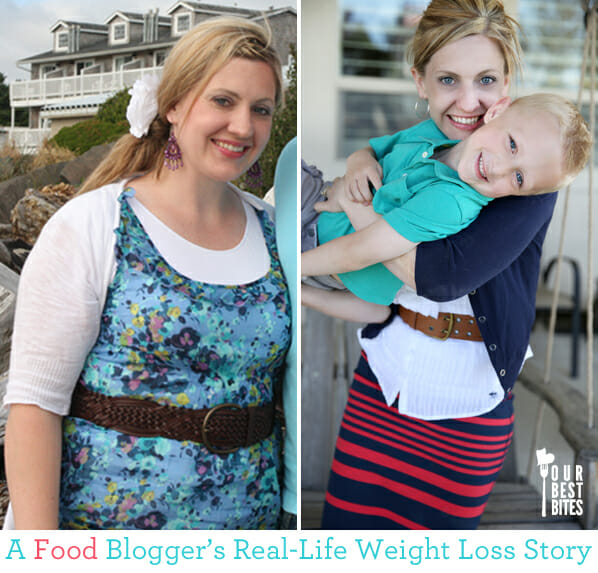 A Food Blogger's Real Life Weight Loss Story