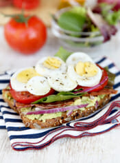 Avocado and Egg BLT intro