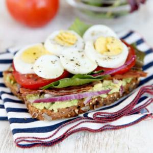 Avocado-Egg BLT