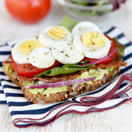 Avocado-Egg BLT