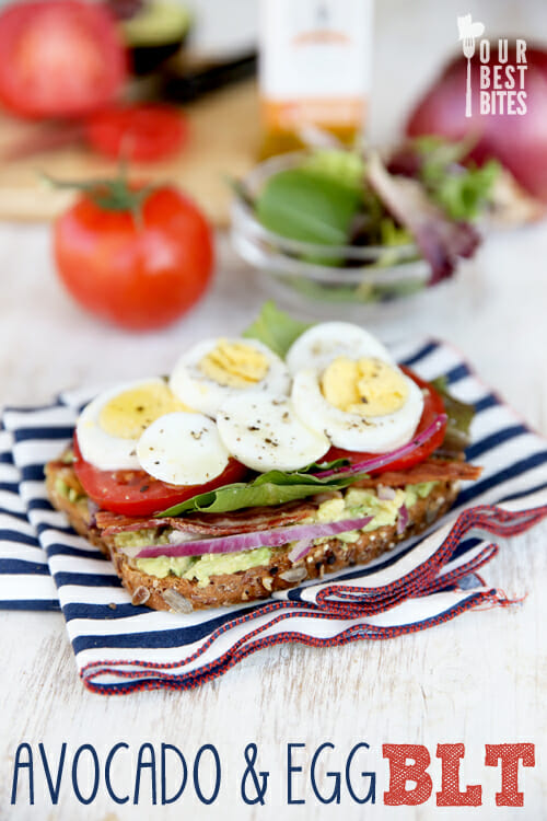 Avocado and Egg BLT