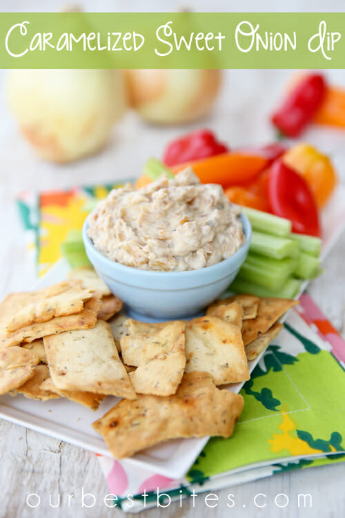Caramelized Onion Dip - Our Best Bites