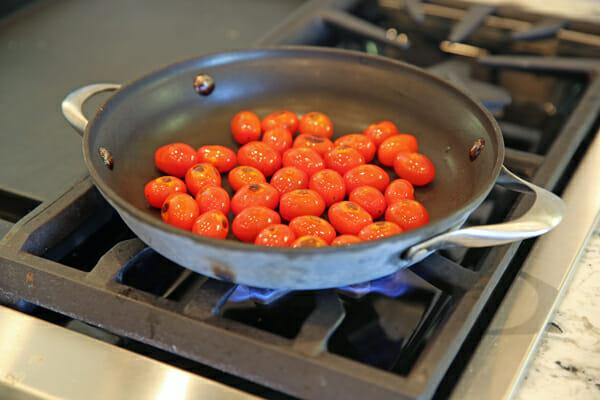 Cherry Tomatoes Saute