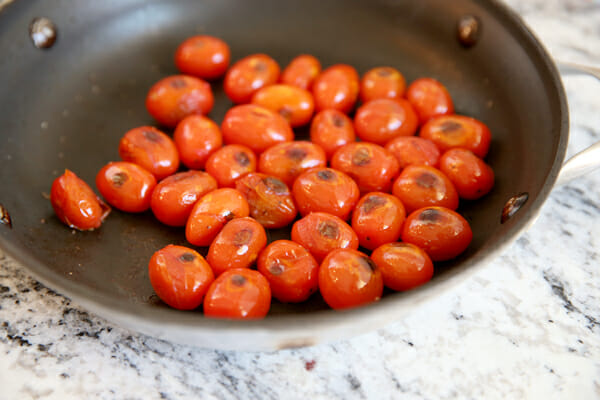 Cooked Cherry Tomatoes