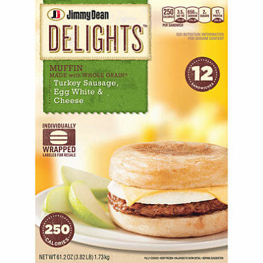 Jimmy Dean Egg Sandwich