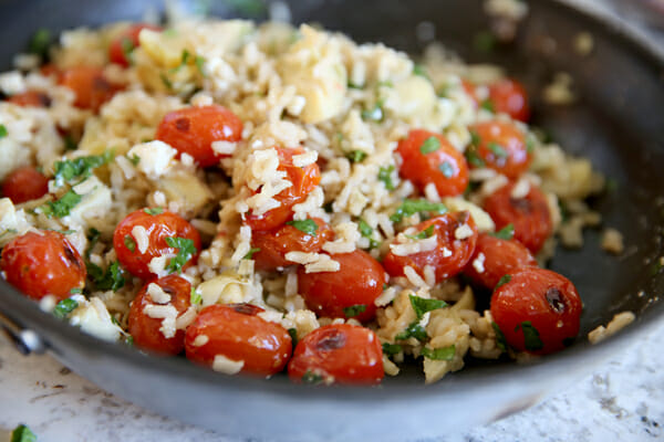 Mixed Greek Rice
