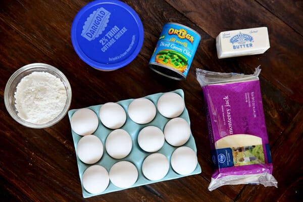 Chili Cheese Ingredients