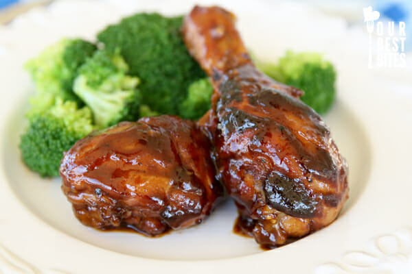 Honey Balsamic Glazed Chicken