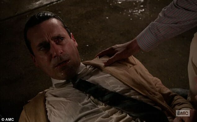 don draper drowning