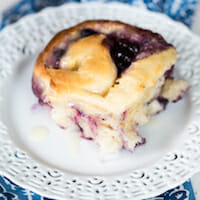 Blueberry-Lemon Rolls