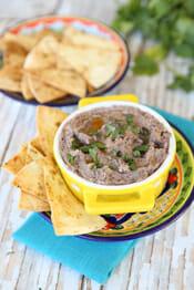 Our Best Bites Black Bean Hummus intro