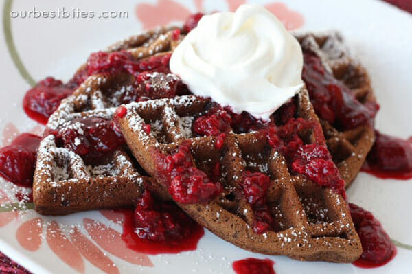 Our Best Bites Chocolate Waffles