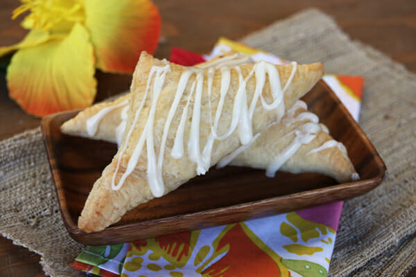 Our Best Bites Coconut Turnovers