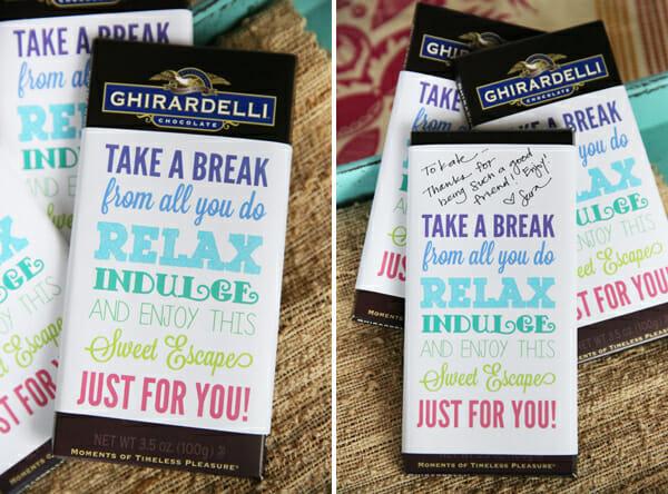 free printables candy bar wrapper teacher | just b.CAUSE