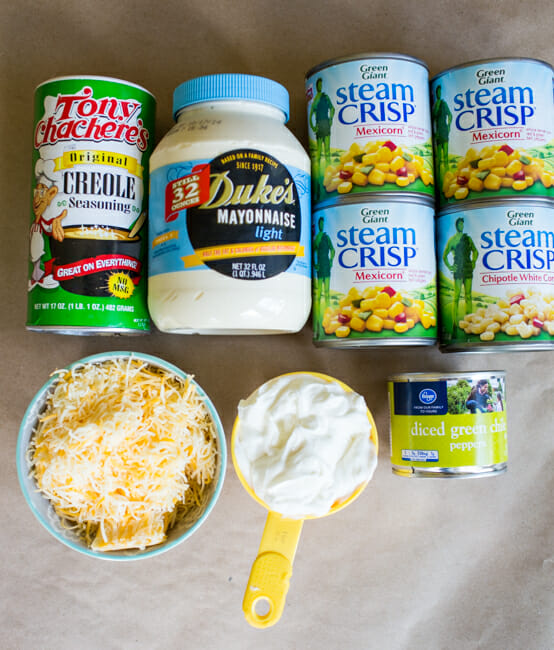 chile cheese corn dip ingredients