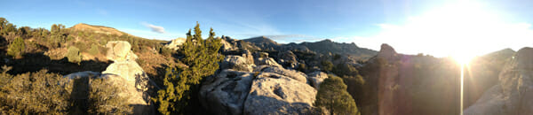 City of Rocks Pano
