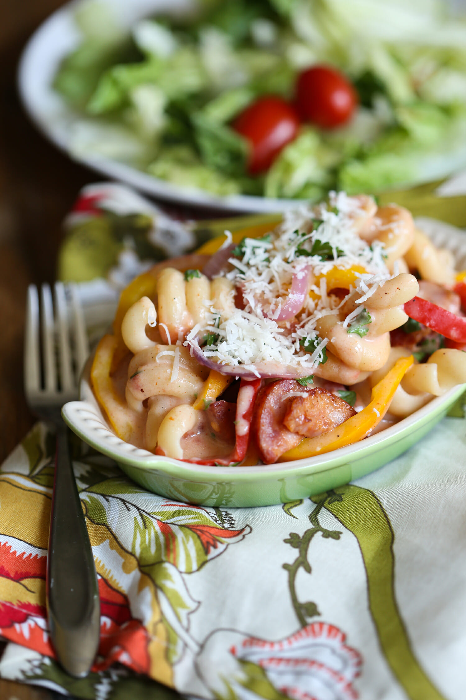 creamy cajun pasta