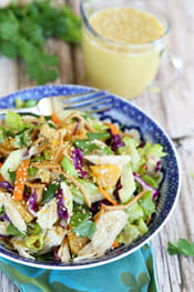 Orange Sesame Asian Chicken Salad from Our Best Bites Intro