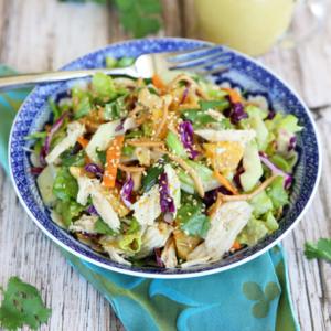 Orange Sesame Asian Chicken Salad